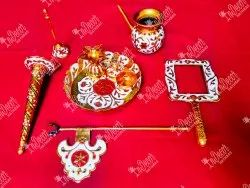 All Type Of Brass Pooja Items, For Temple