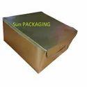 Golden Cake Box