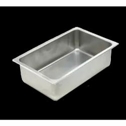 OEM Grey Stainless Steel Rectangular Container, For Commercial Kitchen, Material Grade: SS202