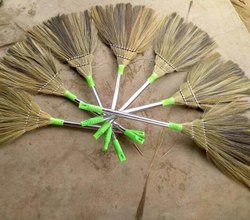 Stainless Steel Floor Cleaning Soft Grass Broom