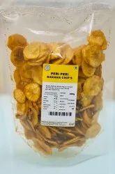 Peri Peri Banana Chips, Packaging Type: Packet