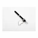 Car Design Silver Pen Holder