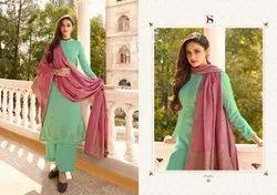 Daria By Deepsy Silk Embroidery Indian Salwar Kameez