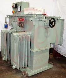 Recons Three Phase Servo Voltage Stabilizer Oil Cooled Digital, 340 V - 460 V, 400 V