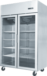 Frost Free Glass Door Refrigerator, Capacity: 1300 Ltr