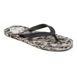 Slip On EVA Rubber Hoppers Go Camaouflage Grey Hawai, 16-18MM, Size: 7-10