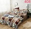 Status Multicolored Double Bed Bedsheet