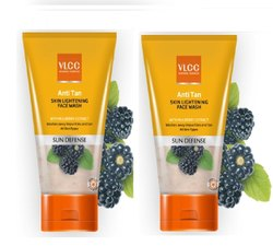 VLCC Anti Tan Skin Lightening Face Wash, Age Group: Adults, Packaging Size: 150g+150g
