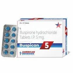 5 mg Buspirone Hydrochloride Tablets