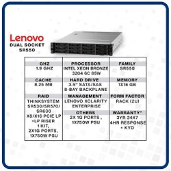 Lenovo Server Dual socket SR550
