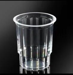 Plain 350ml Disposable Plastic Glass