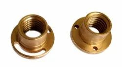 Round Brass Feed Nut, For Industrial