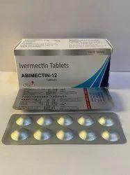 Abimectin-12 Ivermectin 12mg Tablets