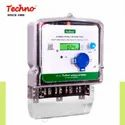 Techno Three Dual Sorce Energy Meter, As Request*, 3*240