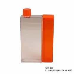 Green Note Book With Snaks Box Bottle-WBT-105-380ml, Capacity: 380ml