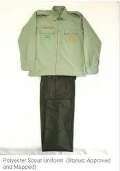Cotton Boys Scout Uniforms, Size: Small
