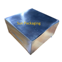 Silver Cake Box