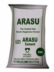 Arasu 43 Grade PPC Cement, Packaging Size: 50 Kg