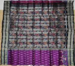 Party Wear Khandua Silk Saree, Without Blouse Piece, 5.5 M ( Separate Blouse Piece)