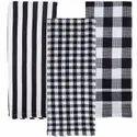 Organic Cotton Plaid Kitchen Towels