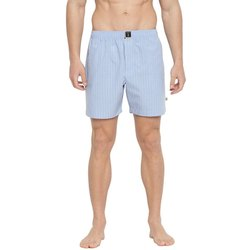 Civilized Blue Boxers Blue with White Checks Short