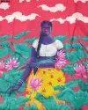 Beautiful Digital Prints Maslin Silk Fabric