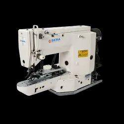 Lockstitch button  sewing machine