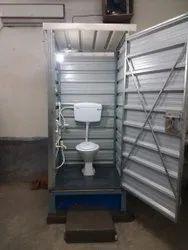 Prefab FRP Portable Bio Toilet Cabin