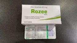 Rozee Zinc Acetate 50mg Tablet