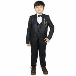 Western Polyester Coat Pant Suit For Boys, Size: 2-16 Years