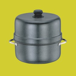 Black Aluminium Rice Cooker, Capacity: 1.5 Litre