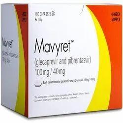 Mavyret (Glecaprevir & Pibrentasvir 100 Mg/40 Mg)