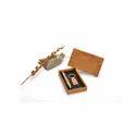 Silver Pen & Keychain Set