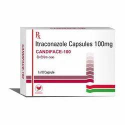 Candiface Itraconazole Capsule, Prescription