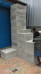 Solid Autoclaved Aerated Concrete AAC Block - 6