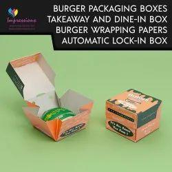 Automatic Lock Burger Box