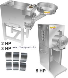 3 HP Deluxe 2 in 1 Pulverizer Machine