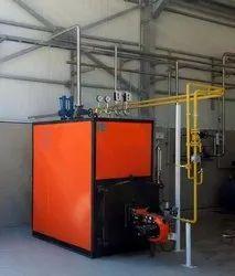 Diesel Steam Boiler 500 kg