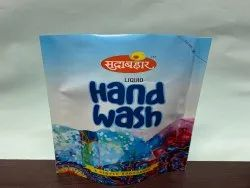 Printed Stand Up Pouch For Hand Wash