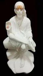 Polyresin Ashirwad Saibaba Statue Sai No. 4.5