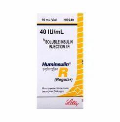 Huminsulin R 100 Iu/Ml Injection
