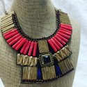 Mansi Handmade Metal Beaded Necklace