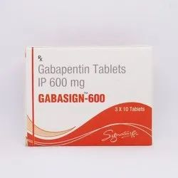 Gabasign 600 Mg Tablets