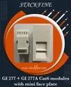 Stackfine Cat6 Module With Faceplate