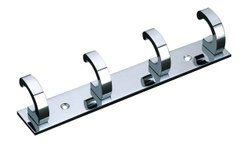 Aluminium Utility Wall Hook, Chrome, Size: 8inch