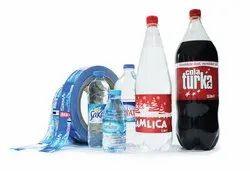 Multicolor Oil Bottle Shrink Label., Packaging Type: Roll