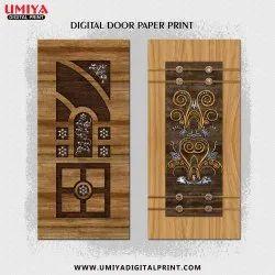 Printed Digital Door Print Paper