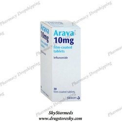Arava 10 Mg Tablet