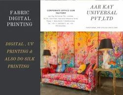 In Pan India 4 Colour Fabrics Printing Services, Digital Floral Print, 500