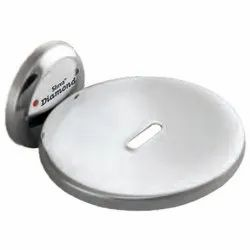 Round CP Soap Dish Without Flange